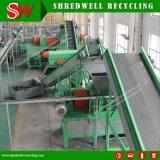 Planta de recicl Waste do pneu do Turnkey para o pneumático da sucata que recicl o Mulch da saída/borracha de borracha da migalha/pó de borracha