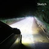 Passare l'illuminazione dell'automobile del T3 H3 LED del PUNTINO ISO9001 35W 6000K di Emark RoHS del Ce