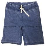 Shorts del tessuto di Imitaion Jean per il ragazzo con il Burn-out