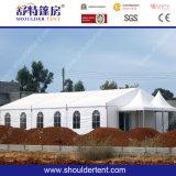Шатер хаджа Рамазан шатра белой ткани PVC постоянный