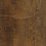 Étage 100% en bois d'imitation gris certifié de cliquetis de vinyle de Vierge