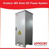 sistema ibrido di energia solare 48VDC per illuminazione esterna solare