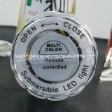 Декор света погружающийся света кальяна вазы AAA эксплуатируемый батареей дистанционного управления Multicolor СИД