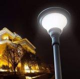 Luz solar de Oudoor LED de la batería recargable