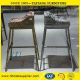 산업 작풍 금속 Barstools/편리한 직물 시트를 가진 바 의자
