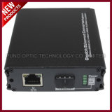 Faser 100Mbps optischer Sc-Typ Gigabit-Ethernet-Media-Konverter