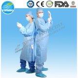 Medizinisches Elementaroperation-Entkeimt oder nicht Lokalisierungs-Kleid/chirurgisches Kleid sortieren frei