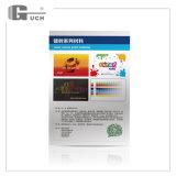 Material do cartão de crédito da prata da impressão de laser do animal de estimação