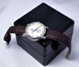 Relógio do Wristband do couro genuíno da prova da água de Mercedes-Benz 50m