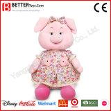 아기를 위한 좋은 박제 동물 연약한 장난감 분홍색 돼지