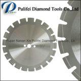 O muro de cimento viu a lâmina concreta seca molhada do diamante da ferramenta de estaca do laser