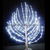 Natale esterno dell'indicatore luminoso dell'albero del ramoscello della decorazione del LED