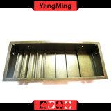 2 Schicht-Kasino-Schürhaken-Tisch eingesetzter Chip-Tellersegment-hybrider Schürhaken-Tisch-Chip-Gleitbetrieb mit Reihe 4 - rundem/quadratischem Ym-CT18