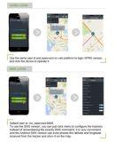 Perseguidor Tk105 del vehículo del GPS de la alarma del coche con el sensor de temperatura
