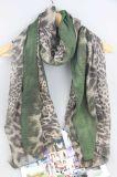 accessori di modo stampati 100*180cm della sciarpa del leopardo per lo scialle delle donne