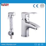 Brass Mélangeur lavabo avec douche (H01-222)