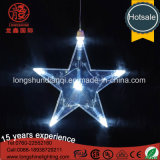 Luz decorativa de la cadena del día de fiesta de la estrella LED de IP65 IP44 50/100 LED para Wedding Derocation