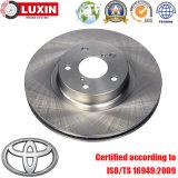 OEM Заменены Автомобильные части тормозной ротор дискового тормоза для Toyota