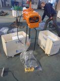 alzamiento de cadena eléctrico 500kgs con los certificados del SGS del GS del CE