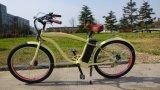 2017新しいデザインEn15194公認の電気自転車浜の巡洋艦のバイク