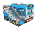 Opblaasbaar Koel het Springen van de Uitsmijter van de Bus Kasteel voor Speelplaats