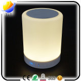 Mini LED Night Light Light Color Touch Creative Haut-parleurs Bluetooth portatifs