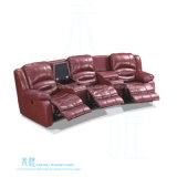 가정 극장 (HW-J12S)를 위한 현대 가죽 Recliner 소파