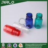 bottiglia variopinta con la protezione trasparente di torsione, bottiglia di plastica del contagoccia di occhio dell'animale domestico 5ml del contagoccia di Eliquid