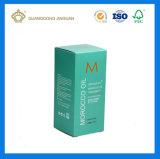 Contenitore di carta impaccante piegante poco costoso di estetica UV di stampa della scheda dell'oro per il siero crema (marchio impresso)
