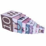 Rectángulo de regalo divertido por encargo de la jerarquización del papel de imprenta