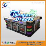 201 7 pusieron al día la máquina de juego de los pescados de la huelga del tigre de los vectores de la pesca del dragón del trueno de la habilidad