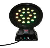 Cer RoHS drahtloses RGBW Wand-Unterlegscheibe-Licht der Beleuchtung-LED