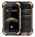 De originele Kern 2GB+16GB van de Vierling 6.0 4.7 4G Slimme 1.5GHz van de Telefoon Mtk6737 van de Duim van Blackview BV6000s Androïde maakt Schokbestendige NFC GPS Smartphone Oranje waterdicht Kleur