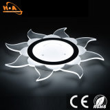 Heiße verkaufenoberfläche eingehangene LED-Kristalldeckenleuchte