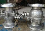 Valvola a sfera montata perno di articolazione dell'acciaio di getto (Q347)