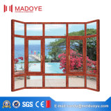La última ventana de la ventana del marco de la aleación de aluminio revestida del polvo del diseño