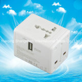 Qualitäts-Universalarbeitsweg Wechselstrom-Konverter-Adapter mit USB