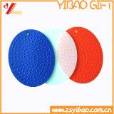 Coasters Customed do copo do silicone da resistência de abrasão (YB-HR-129)