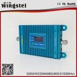 2g 3G 4G Spanningsverhoger van het Signaal van de Telefoon van de 900/2100MHzCel de Mobiele met OpenluchtAntenne