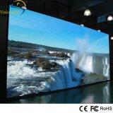 Visualizzazione di LED dell'interno P3.91 della video parete locativa di alta risoluzione