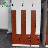 Armario del laminado del compacto del armario HPL de la piscina de la puerta de la dimensión de una variable de Z