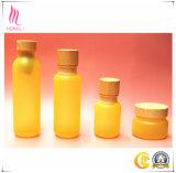 Nieuw Alle Natuurlijke Kosmetische Kruiken van de Room met de Kappen van het Bamboe