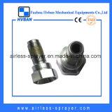 Válvula de retorno de cobre e aço inoxidável para Graco