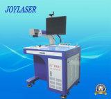 Grabador de fibra óptica de los productos del metal/del no metal de la etiqueta de plástico del laser