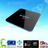 Fabrik-Preis R-Kasten PROAmlogic S912 64bit Octa-Kern H. 265 Spieler 4k Kodi 17.0 Android Fernsehapparat-Kasten