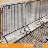 Barrera temporal del control de muchedumbre de la cerca