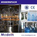 Linha de processamento e de enchimento de água mineral engarrafada de produção