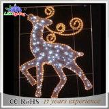 2D Renne extérieur de lumière de corde de décoration commerciale d'événement