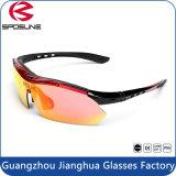 스포츠를 위한 가득 차있는 Revo 렌즈 HD 버전 UV400 순환 남자 색안경