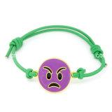 GroßhandelsEmoji Charme-Seil-Armband für Kinder